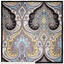 Echo Romantic Paisley Scarf Black