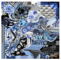 Christian Lacroix Dragonera Grey Scarf