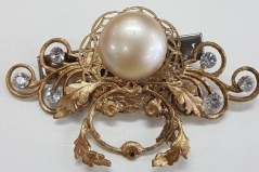 Sianne Embellished Hair Brooch Clip