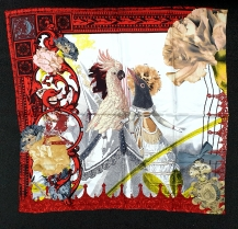 Christian Lacroix Romanteo Scarf Red