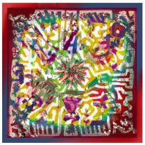 Christian Lacroix World Tribe Scarf Yell