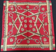 Moschino Made to Measure Scarf Red