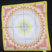 Missoni Sun Yellow Silk Scarf