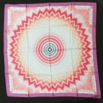 Missoni Scarf Sun Purple Salmon