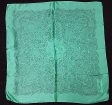 Laura Biagiotti Lace Green Scarf