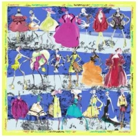 Christian Lacroix 20th Ans Scarf Royal