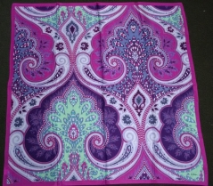 Echo Romantic Paisley Scarf Purple