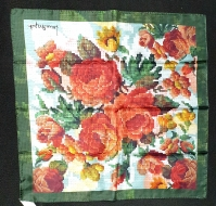 Laura Biagiotti Tapestry Floral Scarf