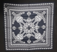 Marlies Dekkers Black White Chain Scarf