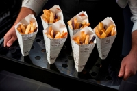 Chip and Dip Food Cones Pk 50