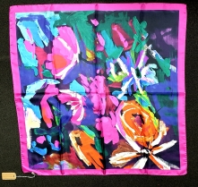 Barbieri Mitani Hot Pink Silk Scarf