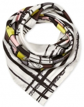 Emilio Pucci Face Print Yellow Multi
