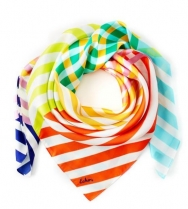 Echo Cambon Stripe Scarf Multi