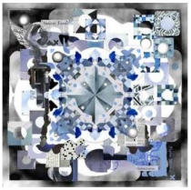 Christian Lacroix Big Bang Grey Scarf