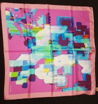 Barbieri Colour Illusion Pink Scarf