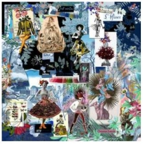Christian Lacroix Fashion Seasons Blue