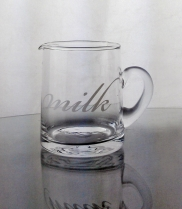 Glass Milk Jug