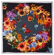 Echo Harvest Moon Scarf Black