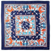 Echo Fun in the Sun Scarf Navy