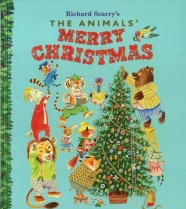 Richard Scarry The Animals Merry XMas