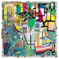 Christian Lacroix Art Love Scarf Multi
