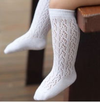 Italian Lace Baby Socks White